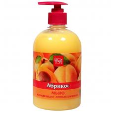 BIOTON kosmetinis skystas muilas Abrikosas antibakterinio poveikio, 500ml