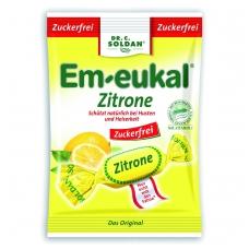 Em-eukal® CITRINŲ skonio pastilės su saldikliais