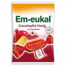 Em-eukal® GRANATŲ ir MEDAUS pastilės su vitaminu C ir cukrumi
