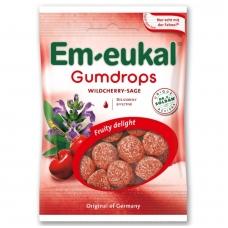 Em-eukal® Guminukai su eteriniais aliejais ir cukrumi  LAUKINE VYŠNIA-ŠALAVIJAI
