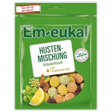 Em-eukal® Guminukai su eteriniais aliejais ir cukrumi  ŽOLIŲ MIŠINYS
