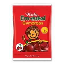 Em-eukal® Kinder LAUKINĖS VYŠNIOS guminukai su 5 vitaminais ir cukrumi