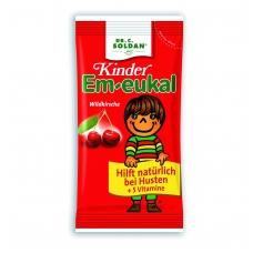 Em-eukal® Kinder LAUKINĖS VYŠNIOS pastilės su 5 vitaminais ir cukrumi