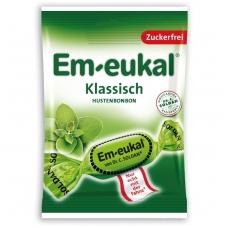 Em-eukal® KLASIKINIO skonio pastilės su eukaliptu ir saldikliais