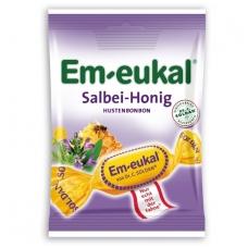 Em-eukal® ŠALAVIJŲ ir MEDAUS pastilės su vitaminu C ir cukrumi