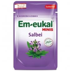 Em-eukal® ŠALAVIJŲ pastilės su vitaminu C ir saldikliais MINIS