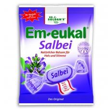 Em-eukal® ŠALAVIJŲ pastilės su vitaminu C ir saldikliais