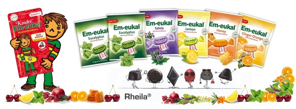 Rheila pastilės