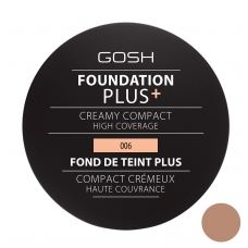 Foundation Plus Creamy Compact – 006 Honey