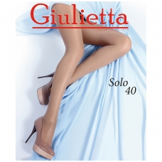 Pėdkelnės moterims GIULIETTA SOLO 40 DEN, NERO spalvos