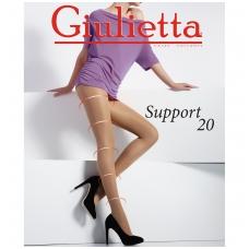 Pėdkelnės moterims GIULIETTA SUPPORT 20 DEN, CAPPUCCINO spalvos