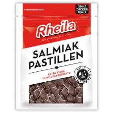 Rheila® Saldymedžio Salmiak pastilės su saldikliais