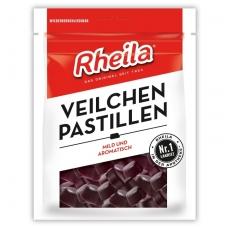 Rheila® Saldymedžio violetinės pastilės su cukrumi